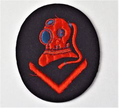 Unissued Third Reich Kriegsmarine Dive Specialist Sleeve Patch