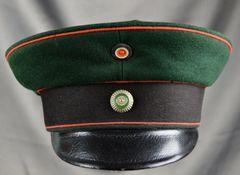 Imperial Saxon Fusilier Regiment 108 Prinz Georg.Visor Cap Circa 1860-1910 **SOLD**