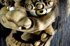 ANTIQUE JAPANESE SHISHI PUPPET HEAD
