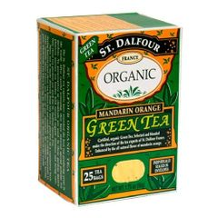 St Dalfour Mandarin Orange Organic Green Tea