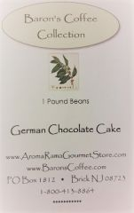 BARONS GERMAN CHOCOLATE CAKE COFFEE