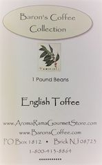 BARONS ENGLISH TOFFEE COFFEE