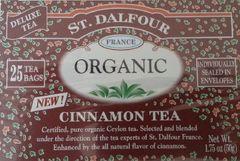 St Dalfour Cinnamon Organic Black Tea