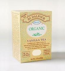 St Dalfour Vanilla Organic Black Tea