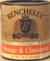 BENCHELEY DECAF ORANGE AND CINNAMON TEA