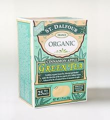St Dalfour Cinnamon Apple Organice Green Tea