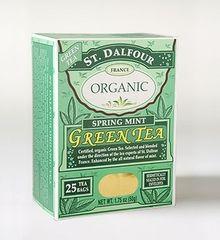 St Dalfour Spring Mint Organic Green Tea