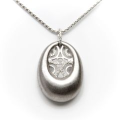 Diamond Satin Pendant