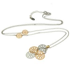 Frederic Duclos Long Sand Dollar Necklace