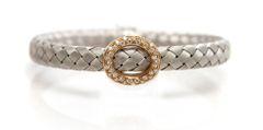 18k White and Rose Gold Bracelet