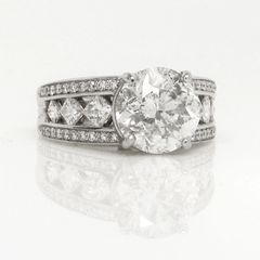 Platinum and Diamond Mounting
