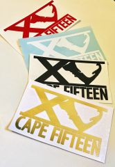 Cape Fifteen Decal