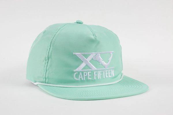 Hollow Hat Seafoam Green