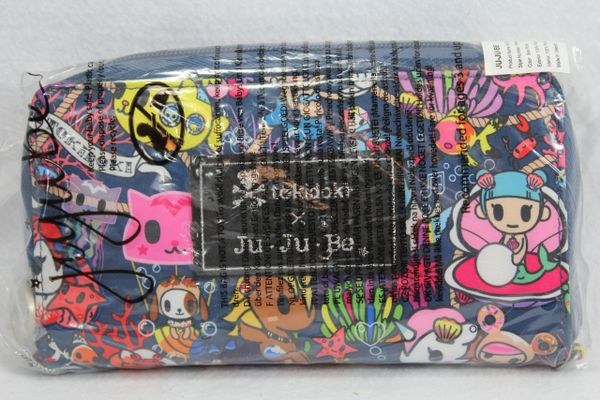 Ju-Ju-Be x Tokidoki Be Spendy Wallet in Sea Punk - PLACEMENT C