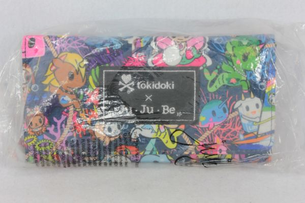 Ju-Ju-Be x Tokidoki Be Rich Wallet in Sea Punk PLACEMENT D