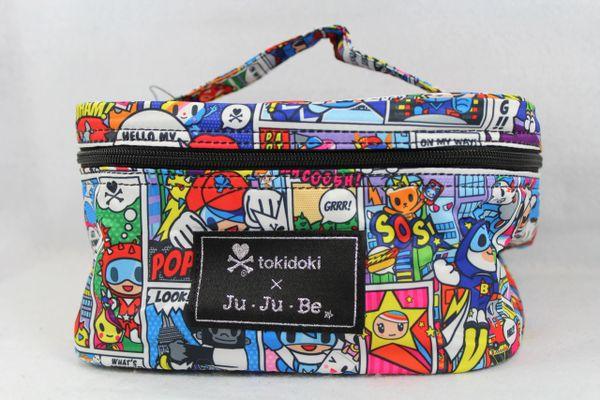 Ju-Ju-Be x Tokidoki Be Ready Makeup Bag in Super Toki PLACEMENT C