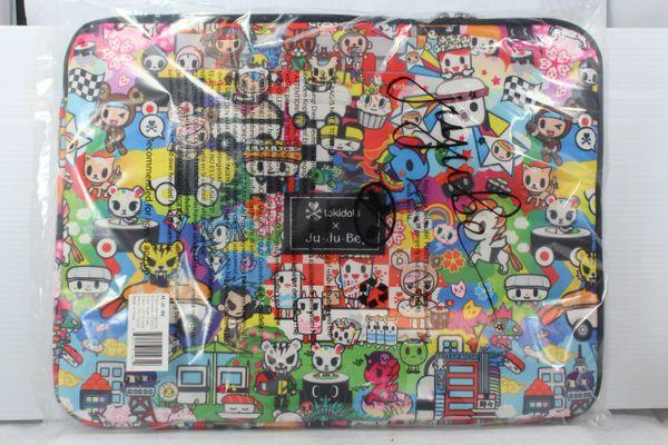 Ju-Ju-Be x Tokidoki Mega Tech Laptop Case in Sushi Cars PLACEMENT B Donutella