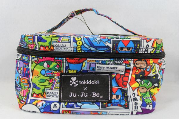 Ju-Ju-Be x Tokidoki Be Ready Makeup Bag in Super Toki PLACEMENT A