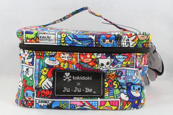 Ju-Ju-Be x Tokidoki Be Ready Makeup Bag in Super Toki PLACEMENT B