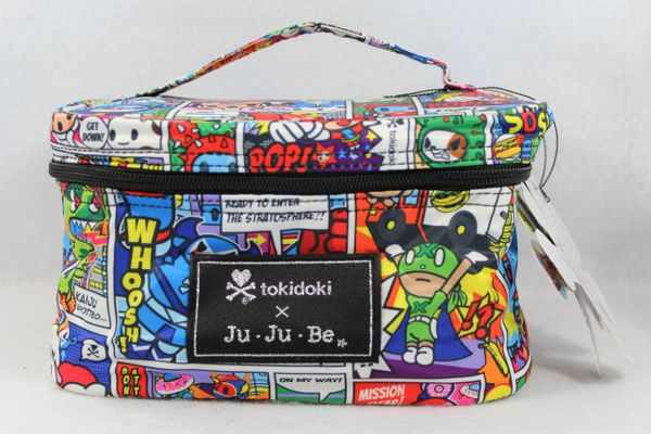Ju-Ju-Be x Tokidoki Be Ready Makeup Bag in Super Toki PLACEMENT H