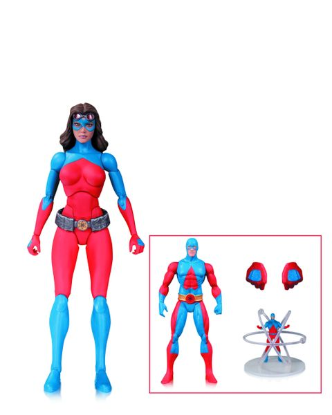 DC Comics Collectibles Icons Atomica Deluxe Action Figure Set