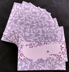 WHALE PURPLE NOTE CARDS