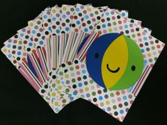 BEACH BALL NOTE CARDS