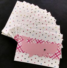 WHALE PINK NOTE CARDS