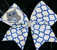 Owl Cheer Bow