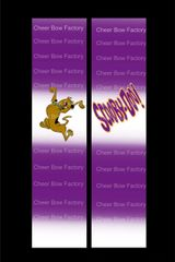 Scooby Doo Cheer Bow Ready to Press Sublimation Graphic
