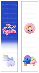 I Love Squishies Ready to Press Sublimation Graphic