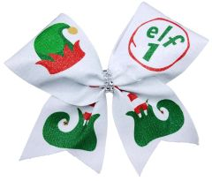 Elf 1 2 3 4 5.... Cheer Bow