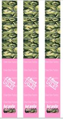 I Rock Pink but prefer Camo Keychain Sublimation Cheer Bow Graphic