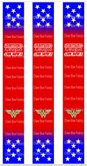 I am no Ordinary Cheerleader Wonder Woman Keychain Sublimation Cheer Bow Graphic