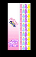 All My Peeps Wear Cheer Bows Cheer Bow Ready to Press Sublimation Graphic