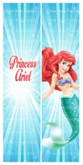 Princess Ariel Cheer Bow Ready to Press Sublimation Graphic