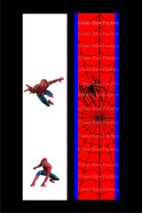 Spiderman Cheer Bow Ready to Press Sublimation Graphic