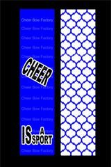 Cheer Is A Sport Cheer Bow Ready to Press Sublimation Graphic