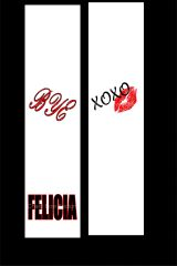 Bye Felicia Cheer Bow Ready to Press Sublimation Graphic