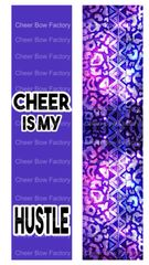 Cheer is my Hustle Ready to Press Sublimation Graphic