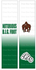 Notorious B.I.G Foot Ready to Press Sublimation Graphic