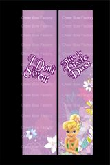 I Don't Sweat This is Pixie Dust Cheer Bow Ready to Press Sublimation Graphic