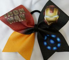 Iron Man Cheer Bow