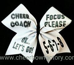 Cheer Coach Focus Please