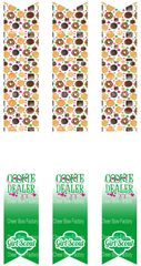 Cookie Dealer Girl Scouts Keychain Sublimation Cheer Bow Graphic