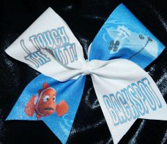 Nemo Touch The Butt Cheer Bow