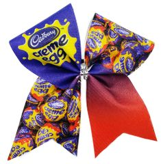 Cadbury Cream Egg Cheer Bow