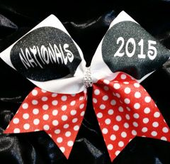 Nationals Minnie Ears Cheer Bow