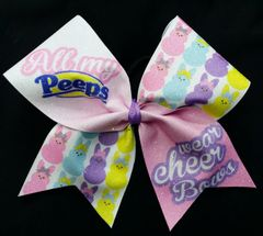 All My Peeps Wear Cheer Bows Bow