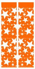 Stars Orange Ready to Press Sublimation Graphic